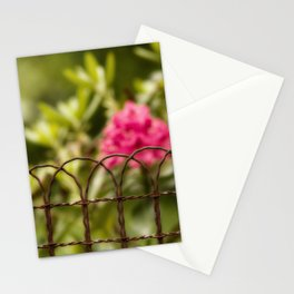 Rusty Fence Stationery Cards