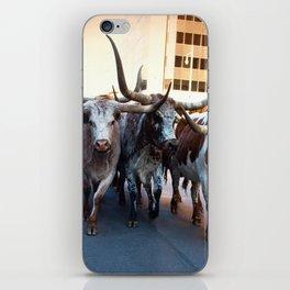 Denver National Western Stock Show Kick-of Parade 2018 iPhone Skin