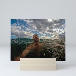 Ocean Nude Mini Art Print