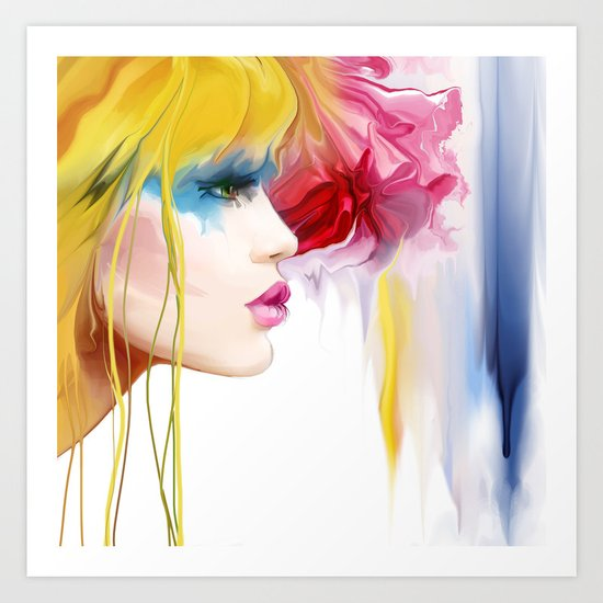 makeup Art Print