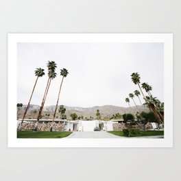 , California Wall Art, Palm Springs Art Print