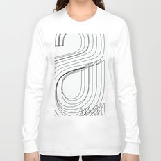Helvetica Condensed 002 Long Sleeve T-shirt