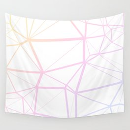 Pastel Lines Wall Tapestry