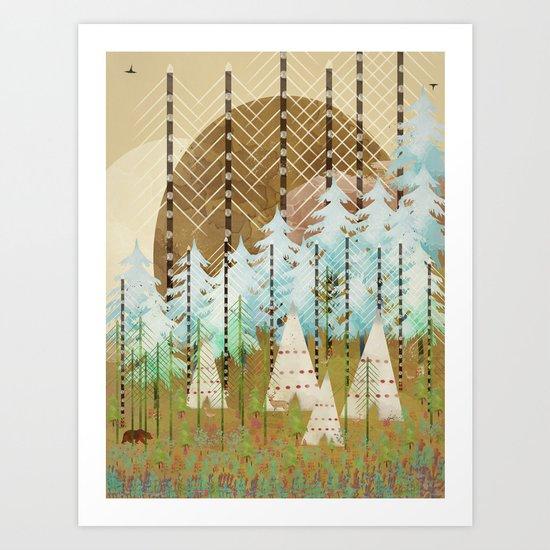 native summer Art Print