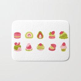 Strawberry Matcha Bath Mat