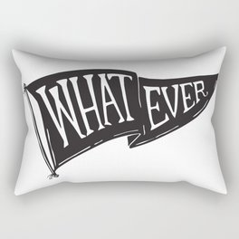 Whatever Flag Rectangular Pillow