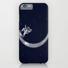 Skate in space iPhone 6s Slim Case