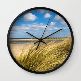 Beach whispers Wall Clock