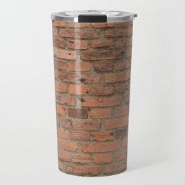 Stone Brick Wall Travel Mug