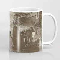 boardwalk empire Mugs featuring boardwalk by Nechifor Ionut