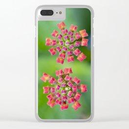 Spreading Sunset Latana Clear iPhone Case