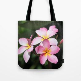Hawaiian Flower Tote Bag