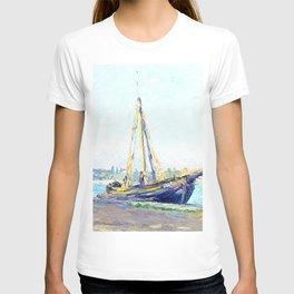 Boat on a beach T-shirt
