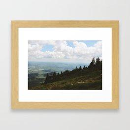 Mount Greylock V Framed Art Print