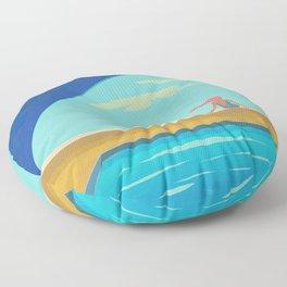 Majestic Solitude Floor Pillow