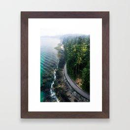 The Vancouver Seawall Framed Art Print