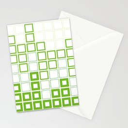 Gingham with a twist Stationery Cards