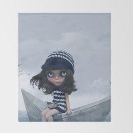 Erregiro Blythe Custom Doll The Hope Sailor Throw Blanket