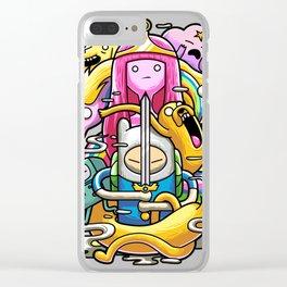 Adventure T Clear iPhone Case