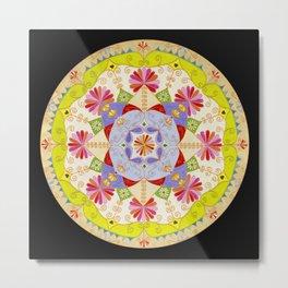 Mandala Ganesh Metal Print