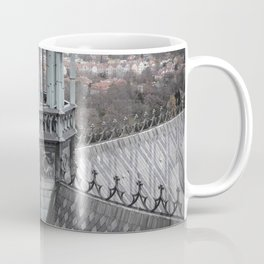 Prague Castle Roof Detail Coffee Mug