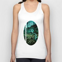 snake Tank Tops featuring Snake by Terrestre
