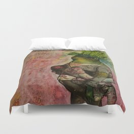 Hair of the Frog Duvet Cover