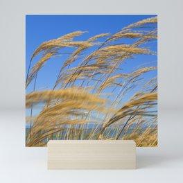 Wheat Blowing in the Heartland Wind Mini Art Print