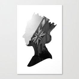 queen of jacks Canvas Print