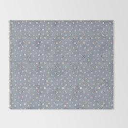 daisy pattern Throw Blanket