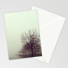 foggy morning Stationery Cards