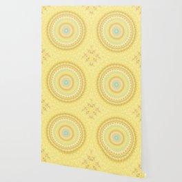Marigold Mandala Wallpaper