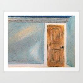The Closed Door Art Print