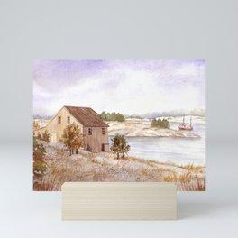 Fisherman's House Mini Art Print