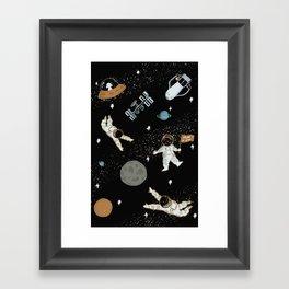 Suke space Framed Art Print