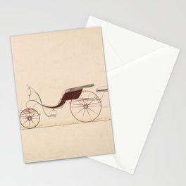 Design for Phaeton,ca. 1870 Stationery Cards