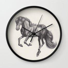 Prancing Horse No2 Wall Clock