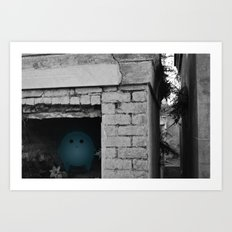 Silence in the Tomb Art Print