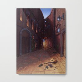 An Alley In Tarbean Metal Print