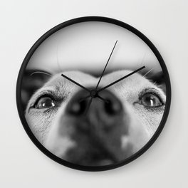 Leeloo the Dog Wall Clock