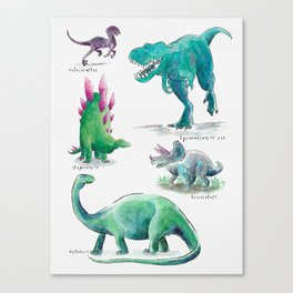 Dino Days Canvas Print