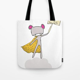 Baby Power Tote Bag