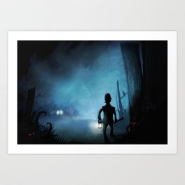Item Nine Art Print