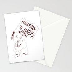 Bye Bye Nazis Stationery Cards