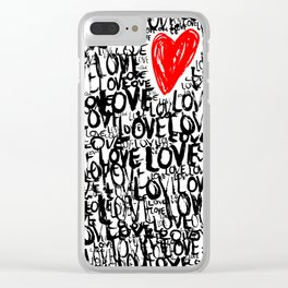 The Love Concept Clear iPhone Case