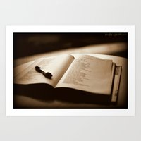 poetry Art Prints featuring Poetry by Reggie Thomas II Photos