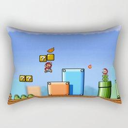 World 1-1 Rectangular Pillow