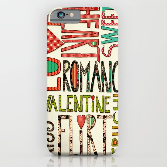 My Romantic Valentine iPhone & iPod Case