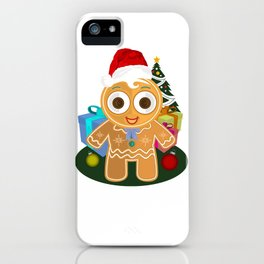 Christmas - Ginger Bread Man iPhone Case