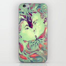 WISH FISH iPhone Skin